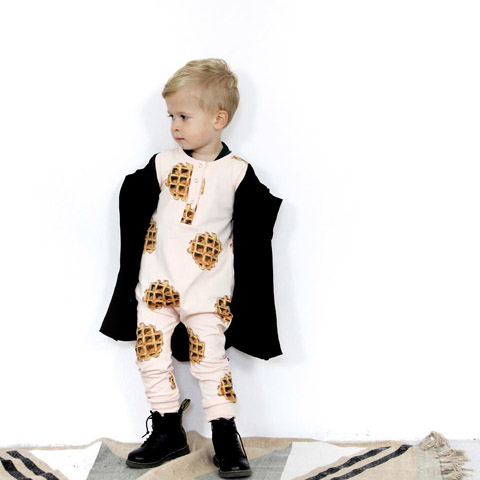 Wafel jumpsuit